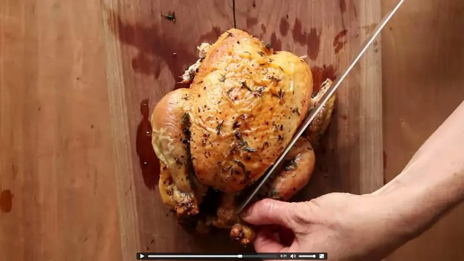 My Favorite Simple Roast Chicken Recipe Epicurious Com