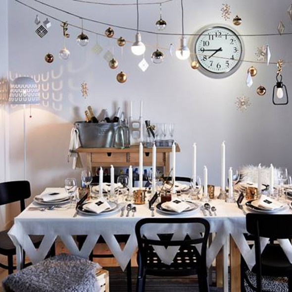 New Year s Eve home decorations   Good Housekeeping