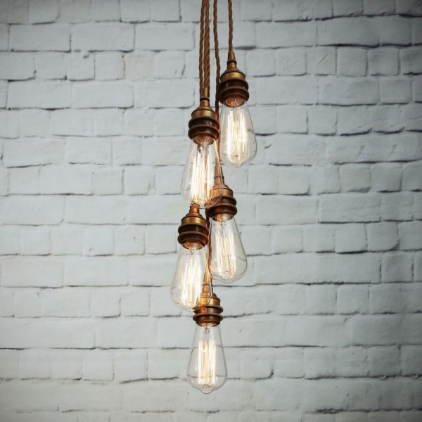 industrial cluster pendant lighting # 0