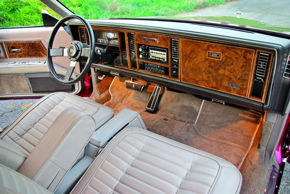 1985 Buick Riviera Interior