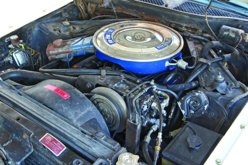 Engine Mustang Cleveland Engine Bay