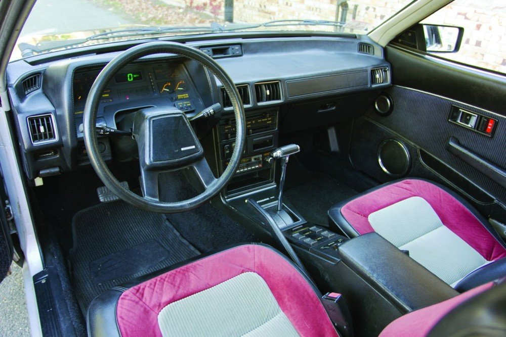 Fabric Car Interior