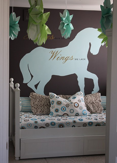 26 Equestrian Themed Bedrooms For Horse Crazy Girls Of All