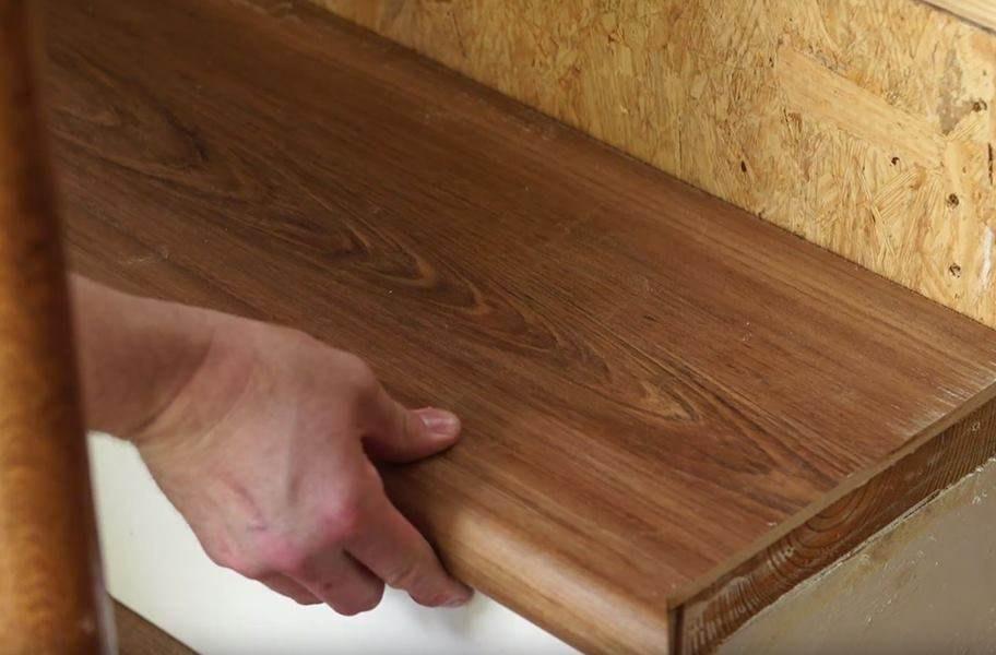 Shaw Endura Stair Treadz   Engineered Oak Stair Treads   Hardwood Flooring   Red Oak   Wood   Modern Retro   Plywood