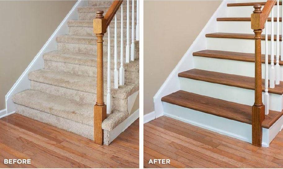 Shaw Endura Stair Treadz | Wood Look Vinyl Stair Treads | Shaw Floors | Laminate Flooring | Roppe | Tile | Vinyl Flooring