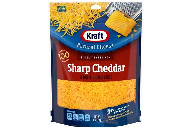 Cheese Kraft Sharp Cheddar Nutrition