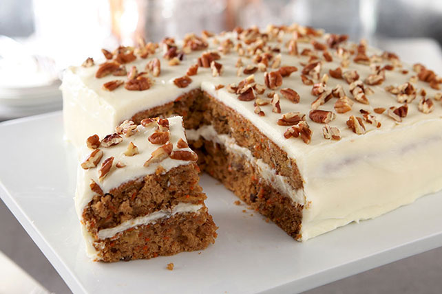Best Carrot Cake Recipe   Kraft Recipes Best Carrot Cake Recipe