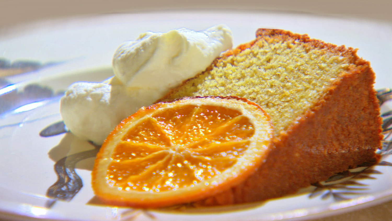 Semolina Cake Recipe Amp Video Martha Stewart