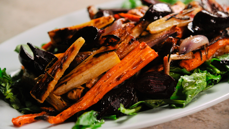 Roasted Autumn Harvest Salad Recipe Amp Video Martha Stewart