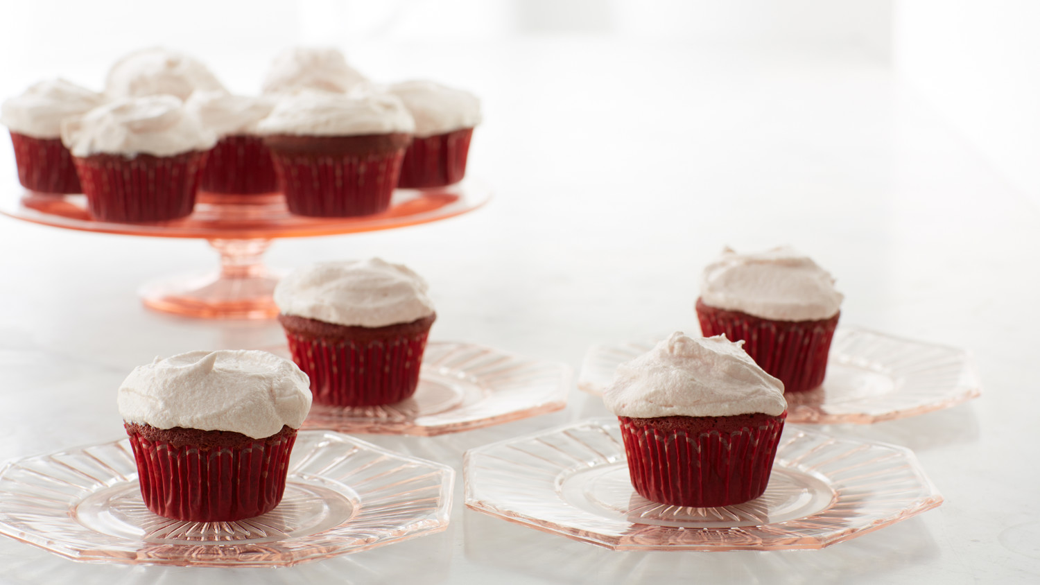 Red Velvet Cupcakes With Cream Cheese Frosting Recipe