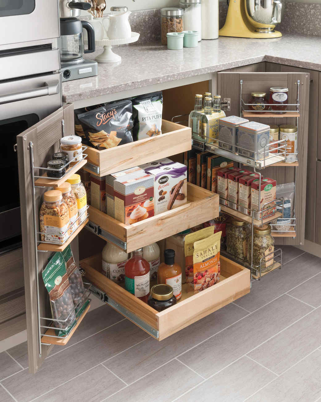 Best Kitchen Gallery: Small Kitchen Storage Ideas For A More Efficient Space Martha of Efficient Kitchen Cabinets on cal-ite.com