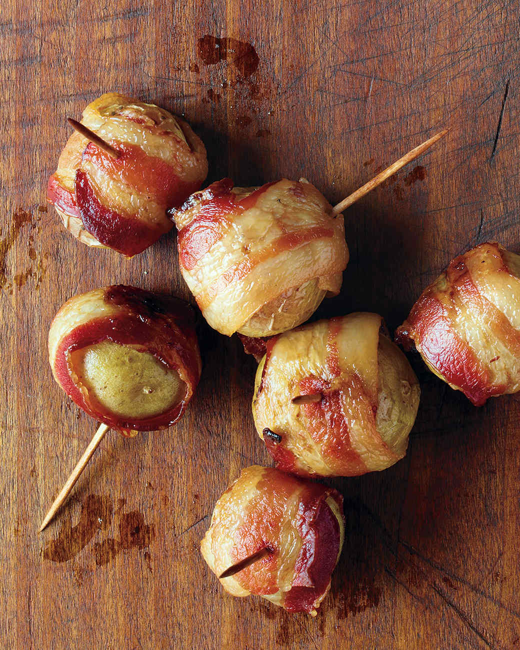 Bacon Wrapped Cream Cheese Appetizers