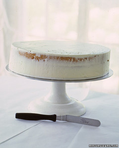 Wedding Cake 101  How to Make a Buttercream Cake   Martha Stewart     wed ws97 cake101 14 jpg