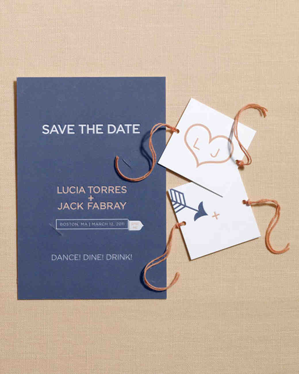 Save Date Cards What Write
