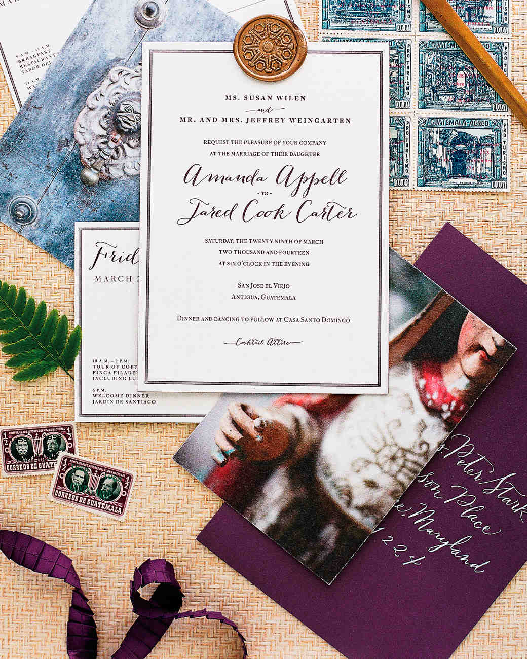 Martha Stewart Weddings Guatemala