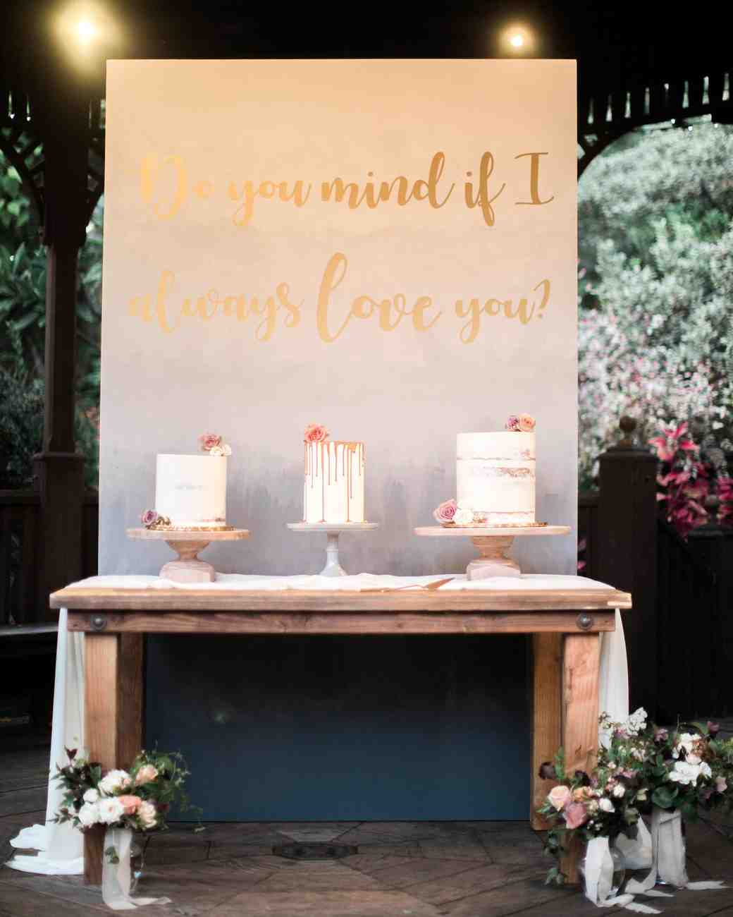 Martha Stewart Wedding Signs