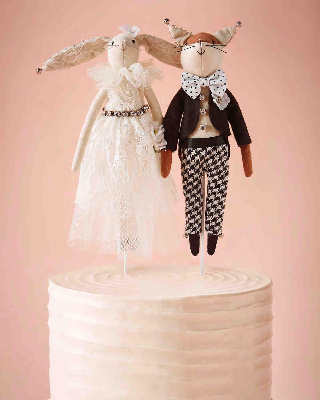 25 Unique Wedding Cake Toppers | Martha Stewart Weddings