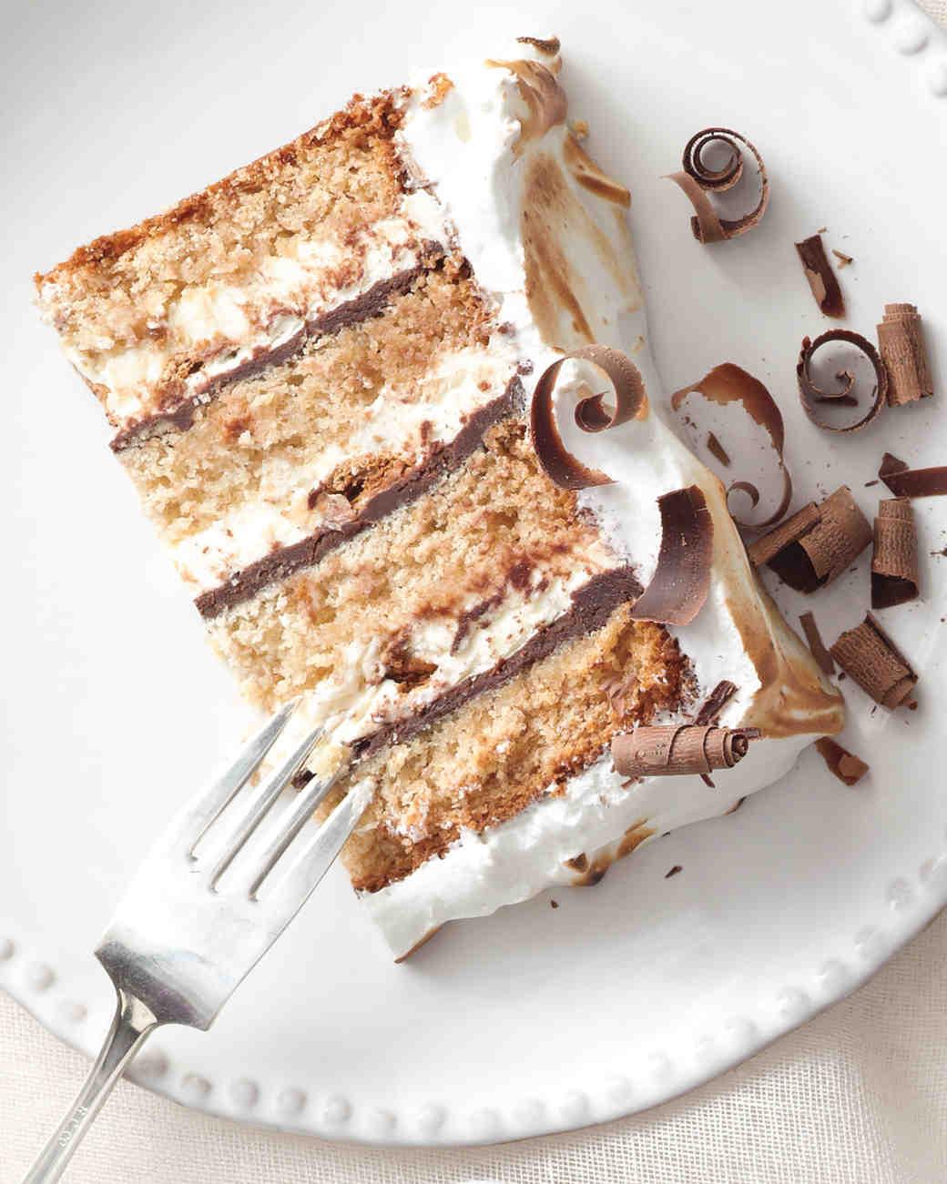 Martha Stewart Vanilla Wedding Cake