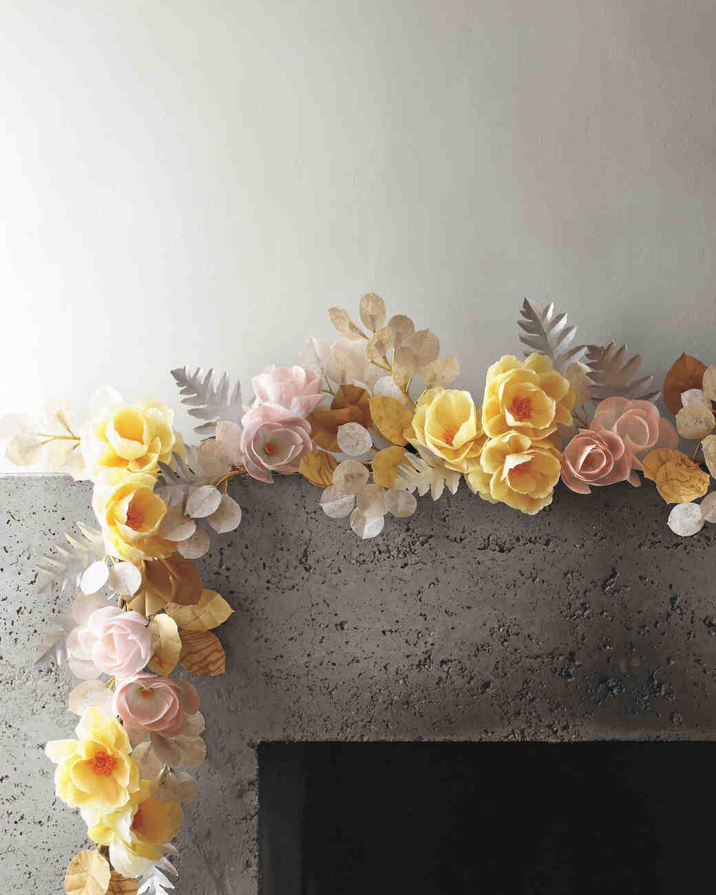 Martha Stewart Weddings Paper Flowers