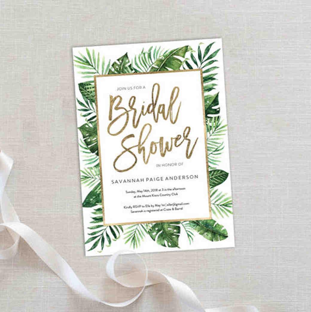 Martha Stewart Bridal Shower
