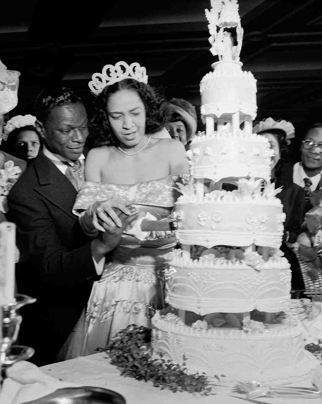 16 Vintage Celebrity Wedding Cakes You ve Probably Never Seen     16 Vintage Celebrity Wedding Cakes You ve Probably Never Seen   Martha  Stewart Weddings