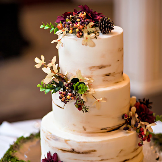 images for fall wedding cakes