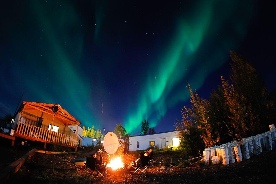 Northern Lights Dawson Creek
