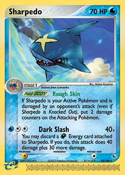Sharpedo | EX Ruby & Sapphire | TCG Card Database ...