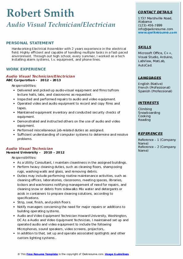 Security Alarm Technician Job Description