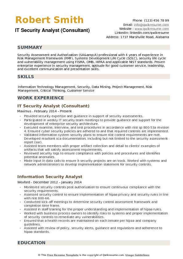 Information Technology Security Policy Sample