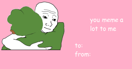 14 Wholesome Valentine s Cards 5  For the meme aficionado
