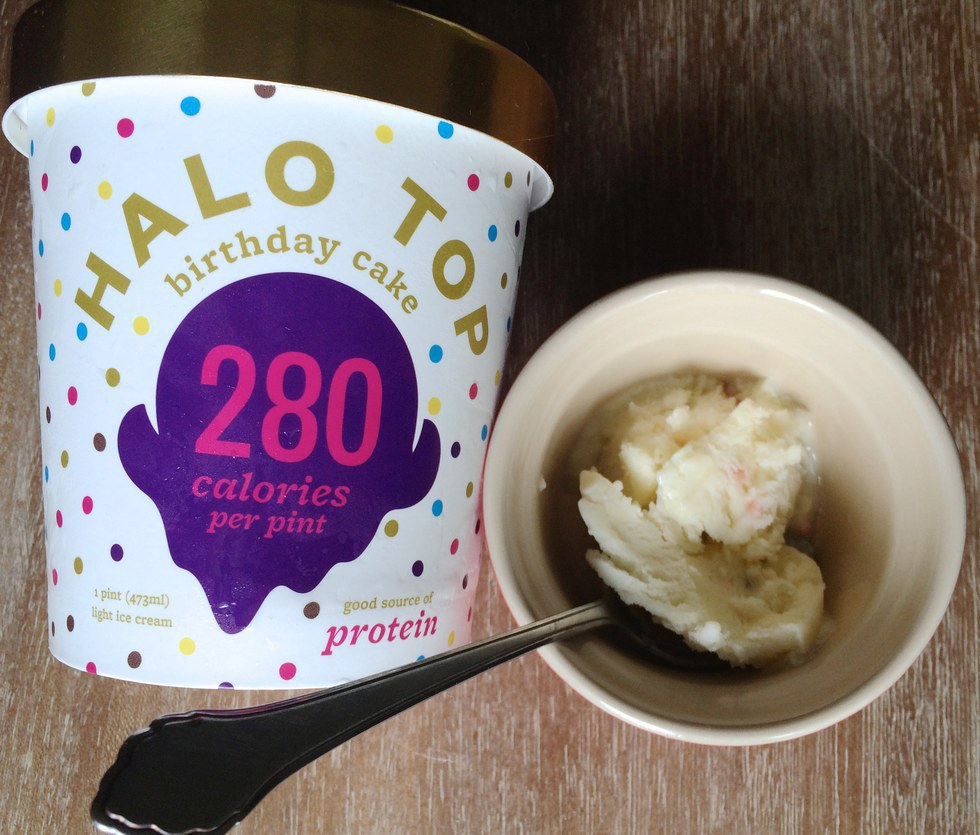 Birthday Cake Halo Top Nutrition