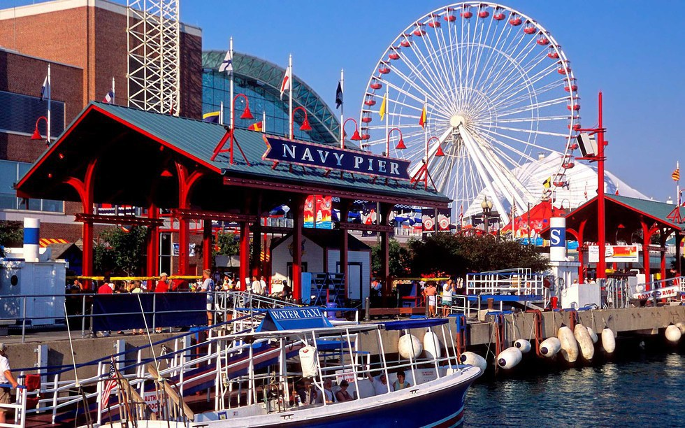 Top Five Places To Visit In Chicago Not only is it known for its 150 foot ferris wheel in the city of Chicago   Navy Pier is literally a city within the city  It includes shopping   restaurants