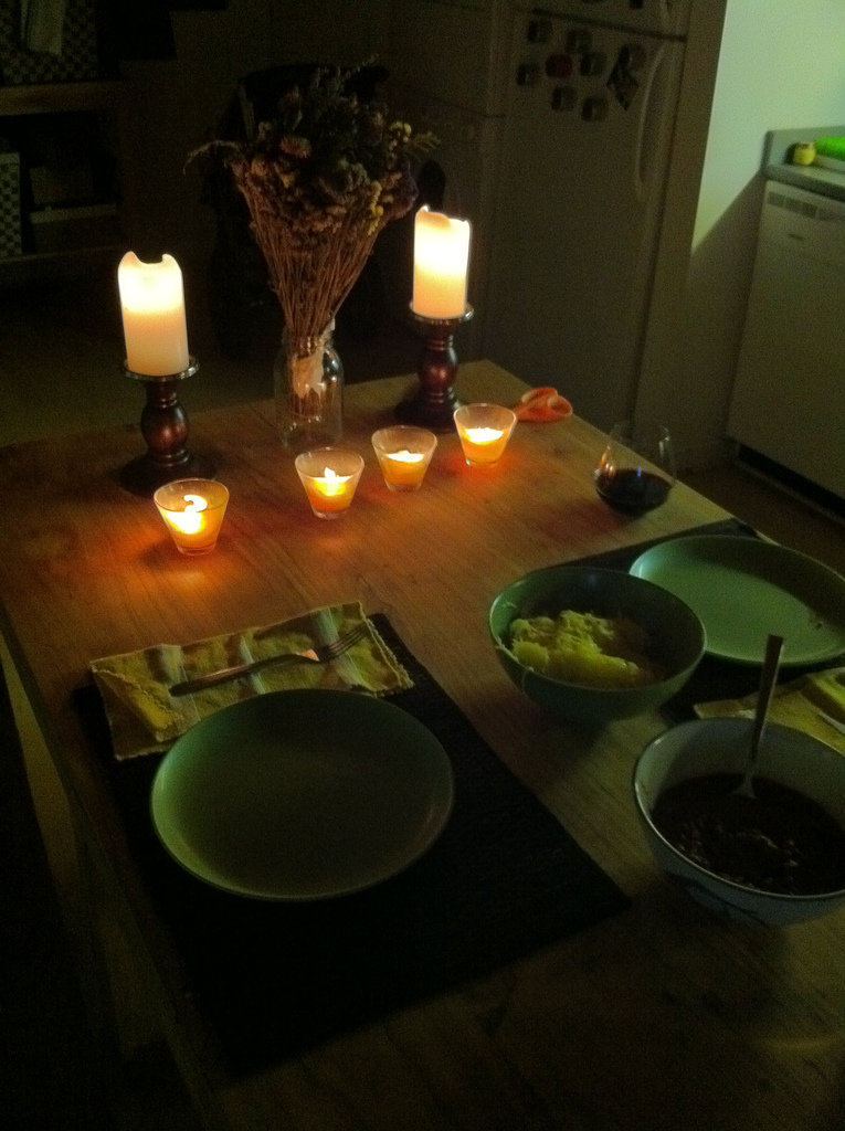Romantic Dinner Home Ideas Him