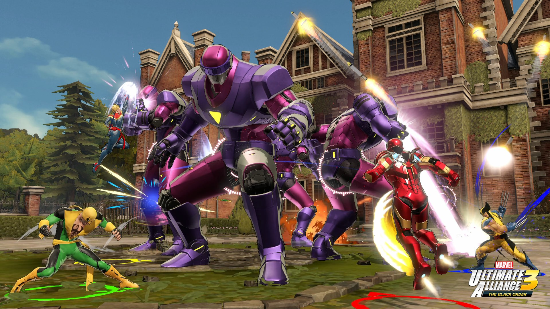 Marvel Ultimate Alliance 3 The Black Order Releases