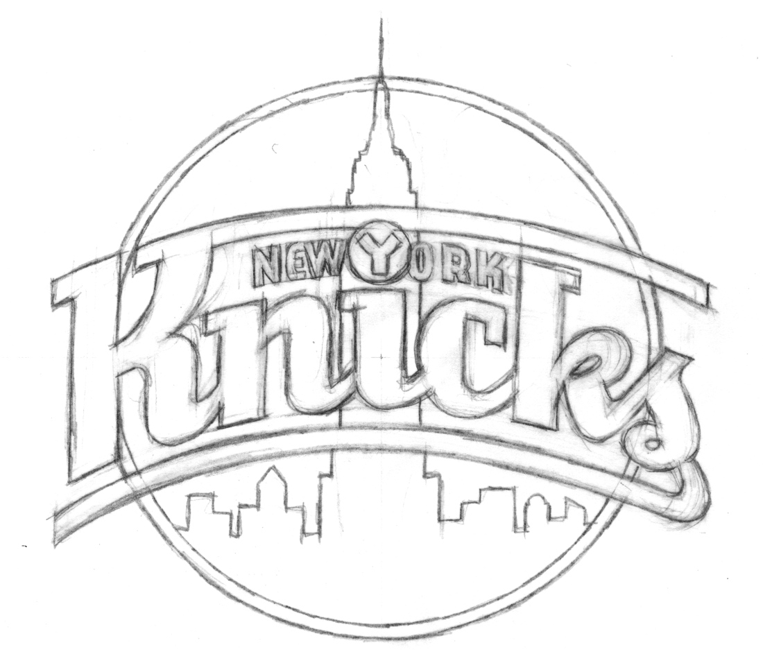 Ny Knicks Coloring Pages