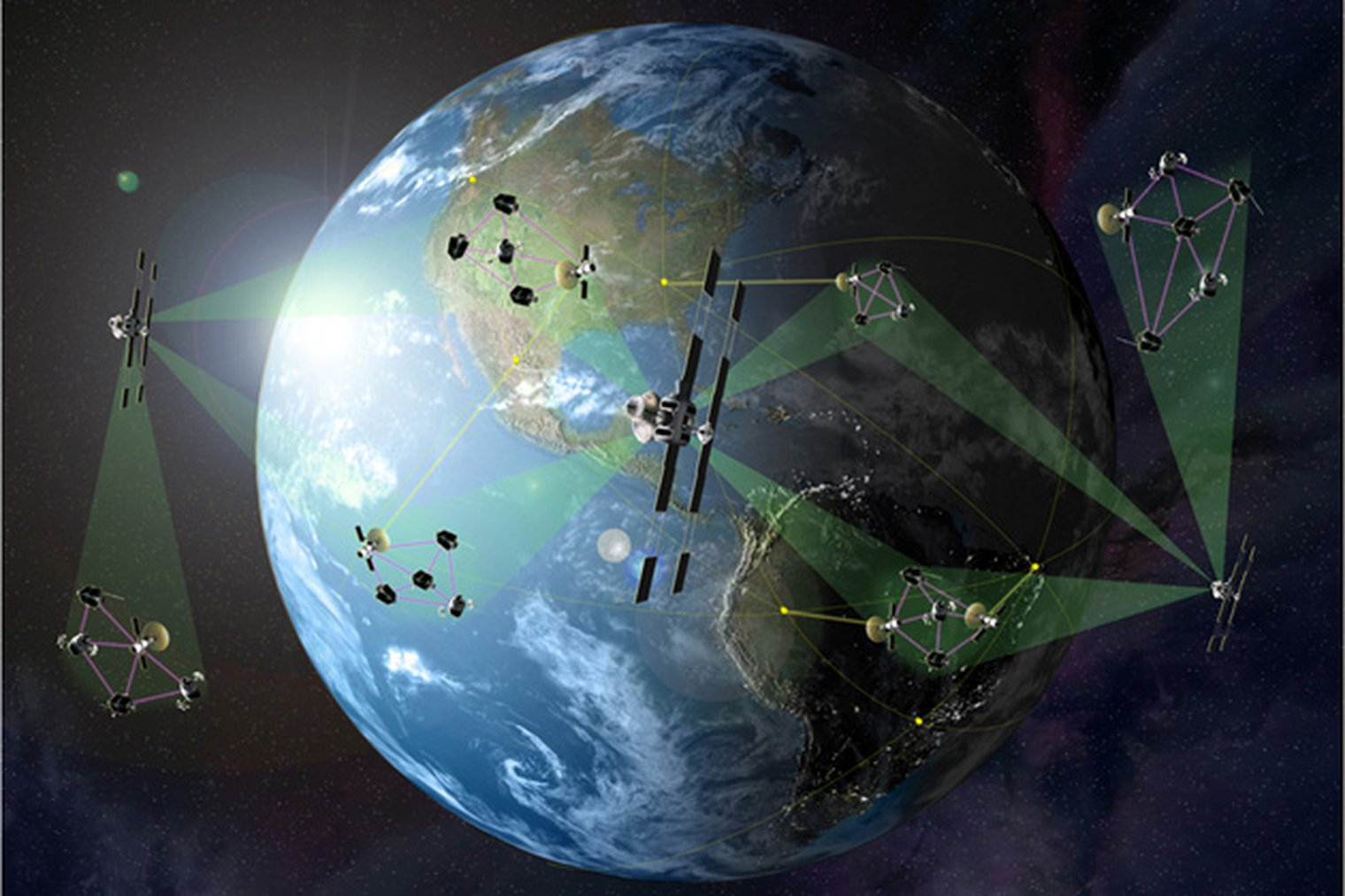 Darpa Prepares For System F6 Satellite Cluster