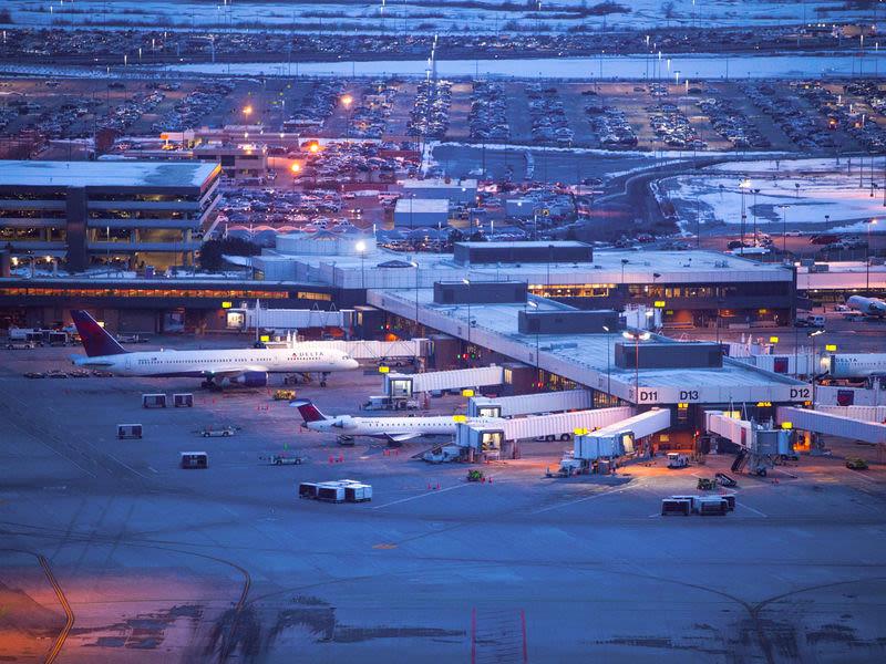 Salt Lake International Airport Airfield Map