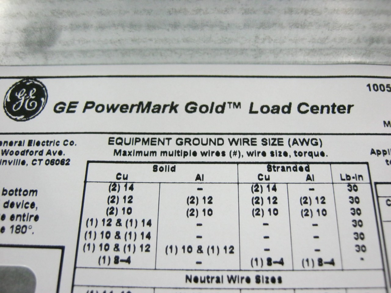 Nice Wire To Breaker Size Chart Gift - Electrical and Wiring Diagram ...