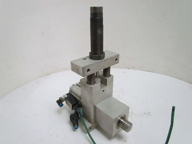 Pneumatic Stop Cylinder Air Stopper W Hydraulic Shock
