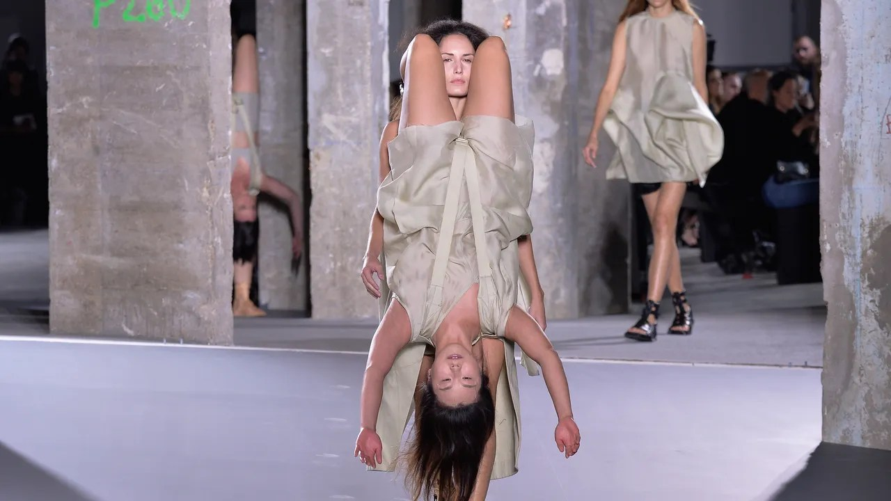 Rick Owens Spring Summer 2016 Fashion Show Women