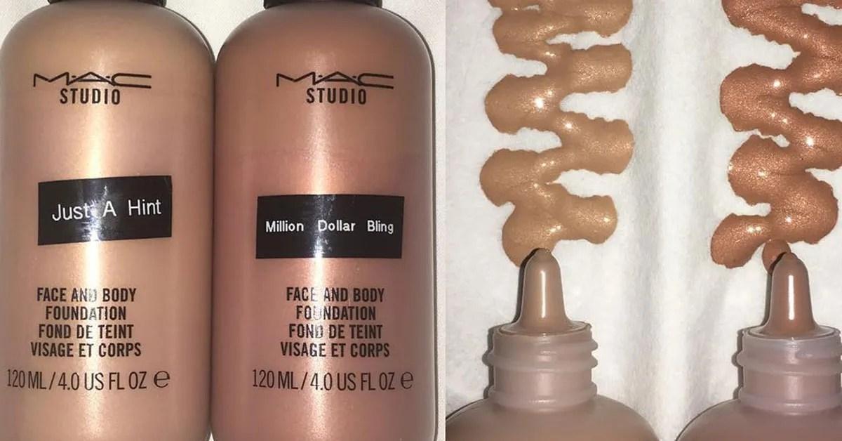 Mac Cosmetics Makes Metallic Foundations Teen Vogue