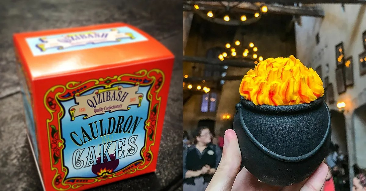 Quot Harry Potter Quot Inspired Cauldron Cakes Debut At Universal