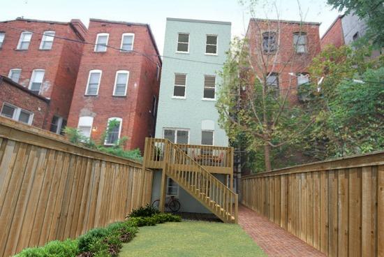 Re Imagined A U Street Row House