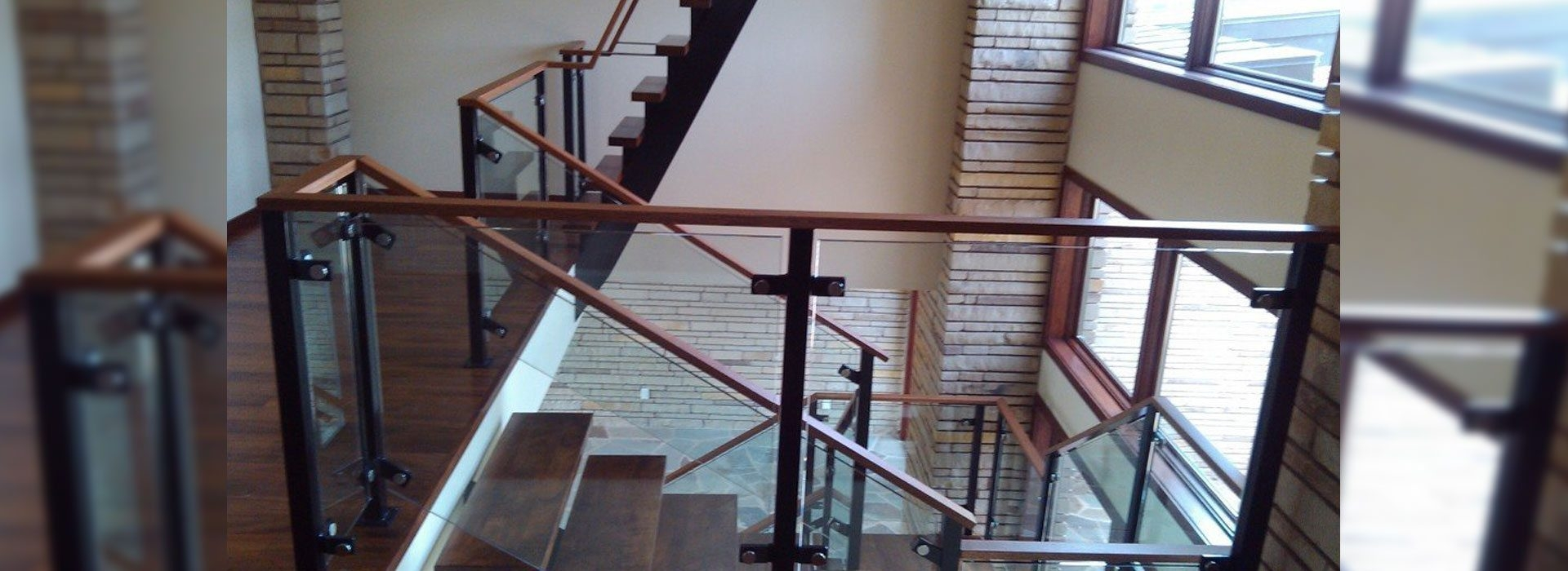 Glass Handrails Commercial Products Anchor Ventana Glass   Glass Banister Near Me   Frameless Glass   Curved Staircase   Glass Panels   Modern Staircase Design   Toughened Glass