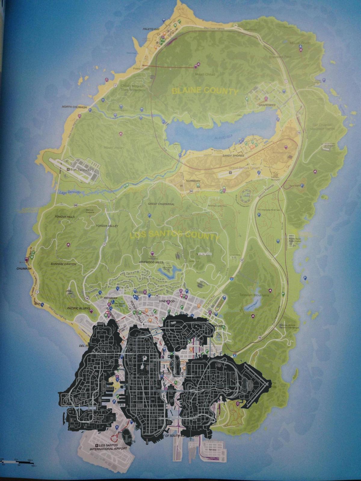 City Map Liberty Gta Iv Gta