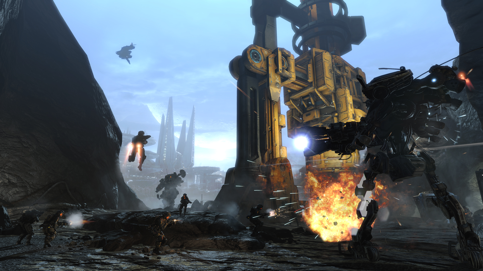 Titanfall Frontier S Edge Check Out The Scale Of The