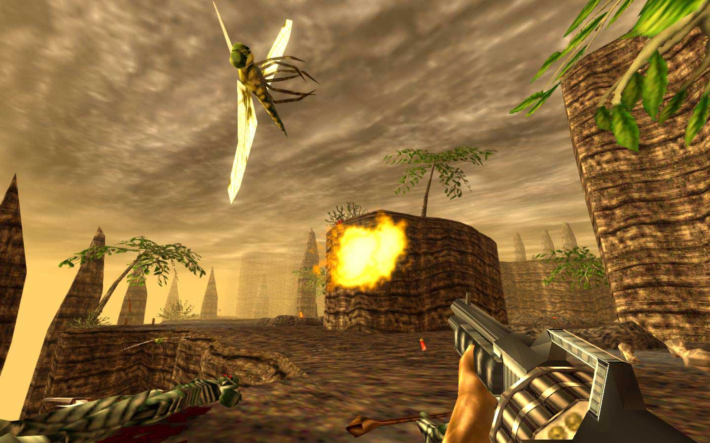Get A Load Of The Draw Distance On The Turok Remaster Vg247
