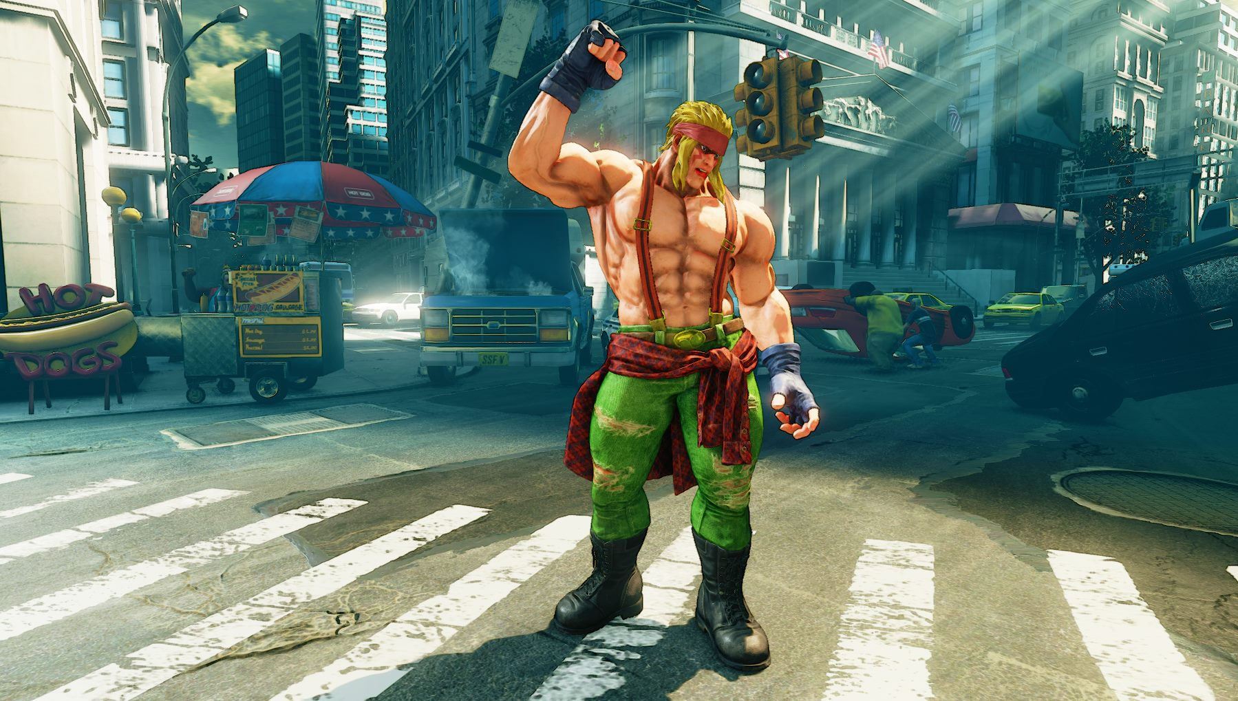 Street Fighter 5's Alex and changes detailed ahead of ...
