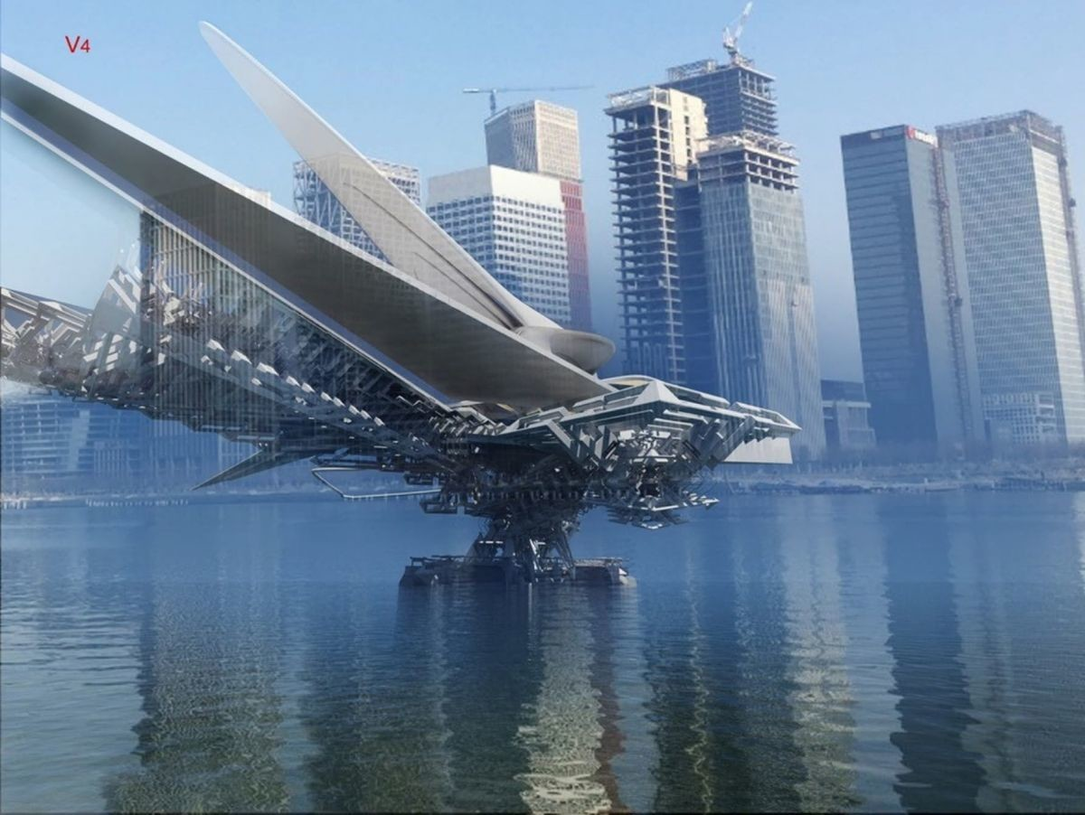 These futuristic buildings are upside down | World ...